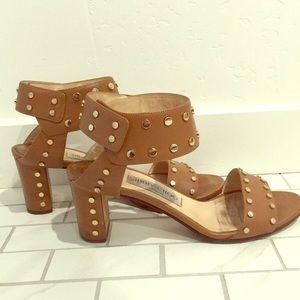 Jimmy Choo studded leather heels